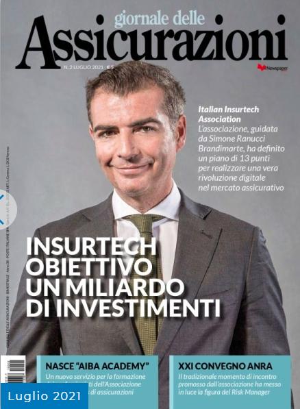Simone Ranucci Brandimarte Il Giornale delle Assicurazioni Luglio 2021